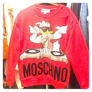 Limited edition Moschino x H&M sweatshirt